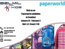 Paperworld exhibition in Frankfurt - 2015