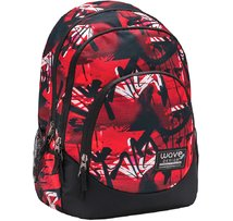 338-68 Graffiti Red