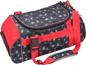 2-in-1 Duffel bag and backpack