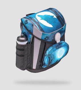 Side pocket for water bottle