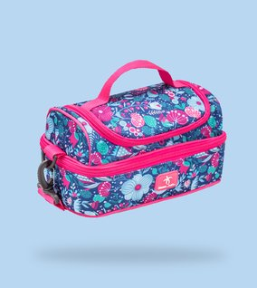 Compact lunch bag for school, travel and outdoor